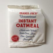oatmeal package