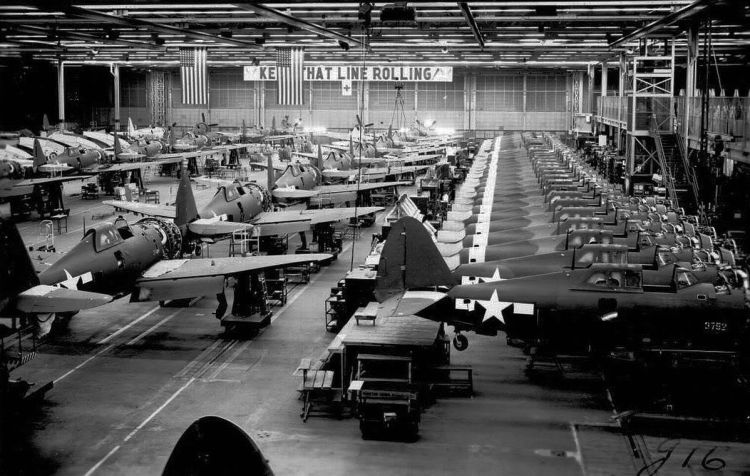 wwii factory