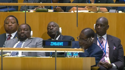 UNGA Zimbabwe reaction